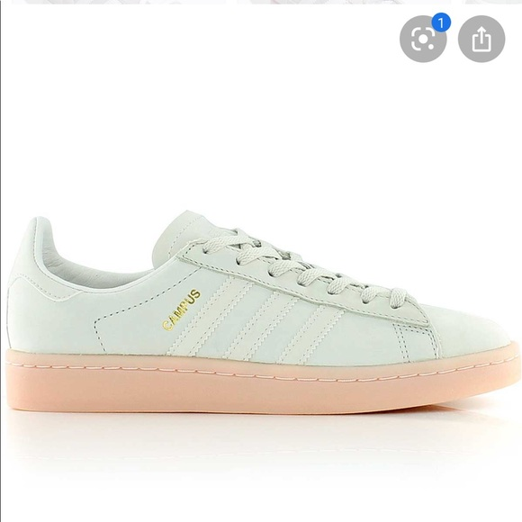 adidas Shoes | Gray And Pink Campus